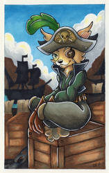 Pirate Vulpera by monniponi