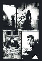 The Dakram Excorcist -inks- by PetaloMaM