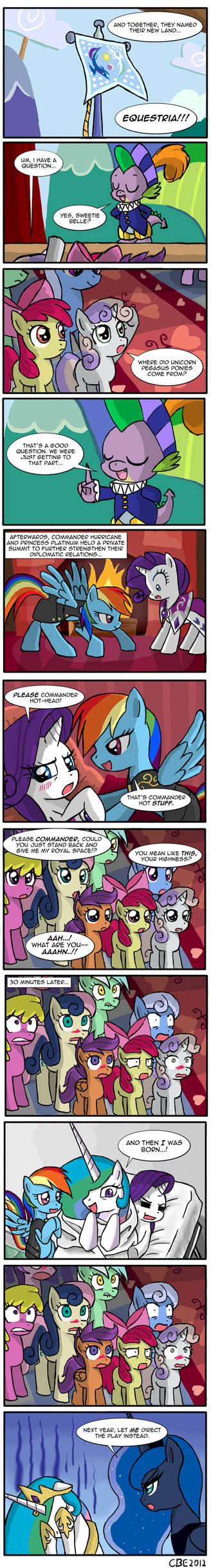 How Pinkie Pie got her cutie mark by CrimsonBugEye