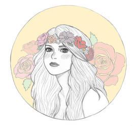 Flower Girl by Naineuh