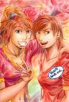 Two Sisters --MSI by genaminna
