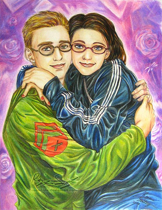 Sammi and her Husband- Commish by genaminna