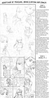 Gena's 6 steps to comic-ing by genaminna