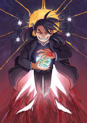 The Chariot - FMA Tarot by Humming-Fly