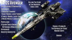 F-12C Avenger Stats by MedronPryde