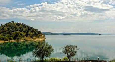 The Lake Of Seyhan River Dam 4. by bigzoso