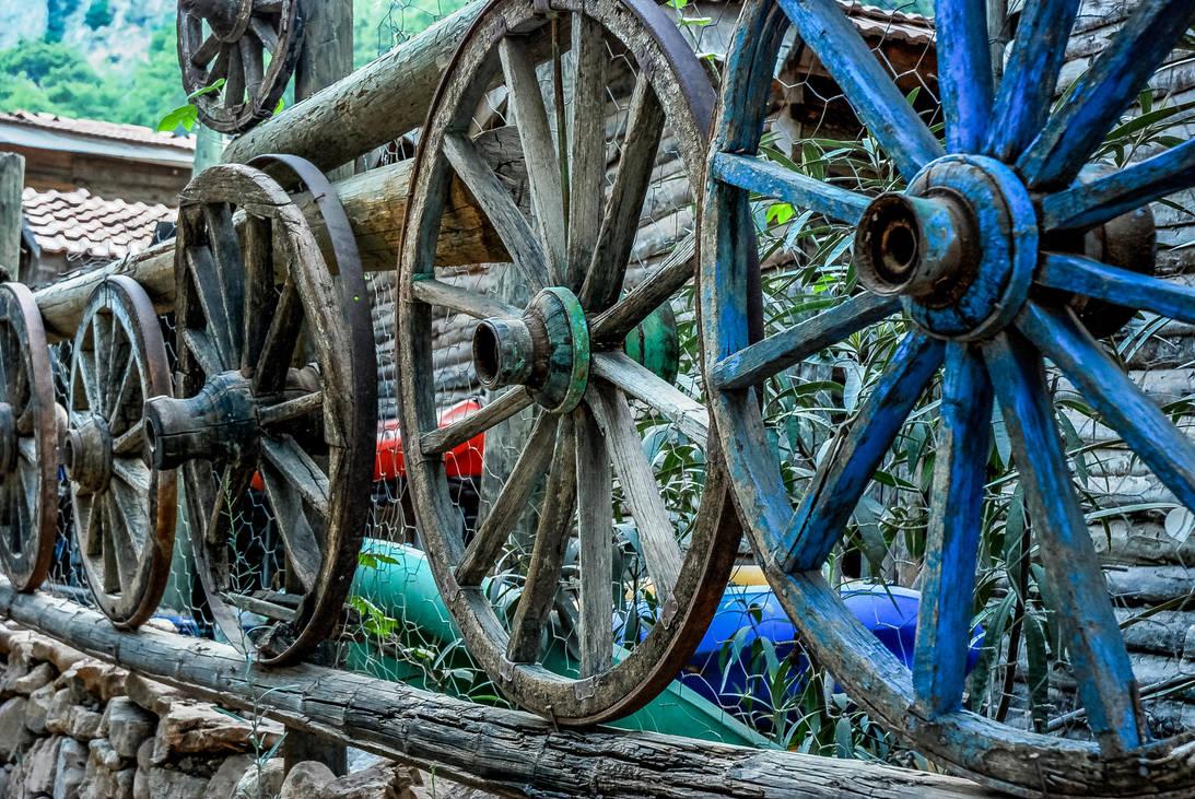 Wooden Wheels 2. by bigzoso