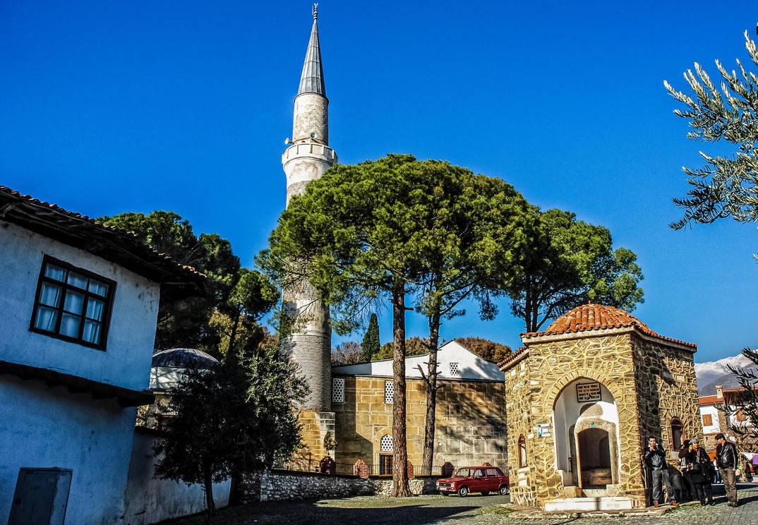 Birgi,Ulu Camii(Grand Mosque). by bigzoso