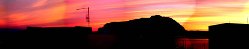 Mondello Skyline by kingofemptyness