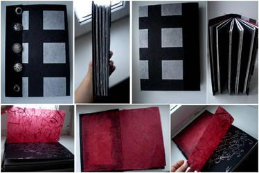 handmade book 4 by darkest-red