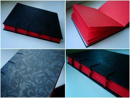 handmade book 26 by darkest-red