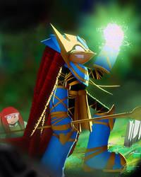 Dimitri Becomes Enerjak by GrimweaverArt