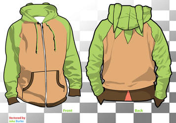Chespin Hoodie by TheForgtten