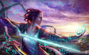 Rey of Light by Little-Lion-Lady