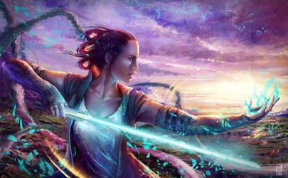 Rey of Light by Little-Lion-Lady