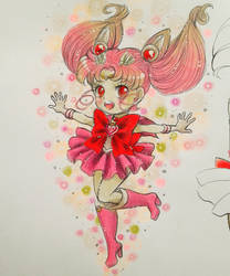 small lady, Chibimoon by Aino-Fred