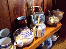 Teapots II by redmatilda
