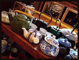 Teapots III by redmatilda