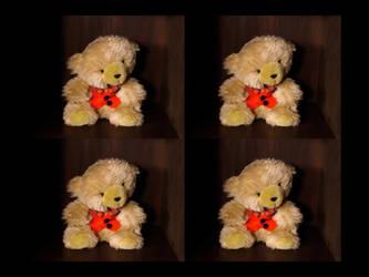 Bear Cupboard by redmatilda
