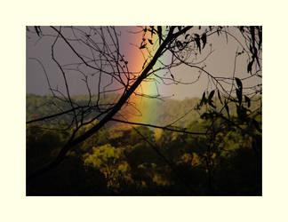 Evening Rainbow by redmatilda