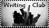 Writing Club Stamp by writingclub