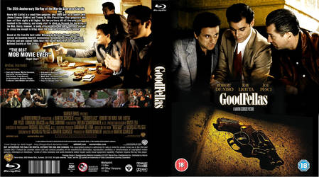 Goodfellas - Custom Blu-Ray Cover by TheQuickTech