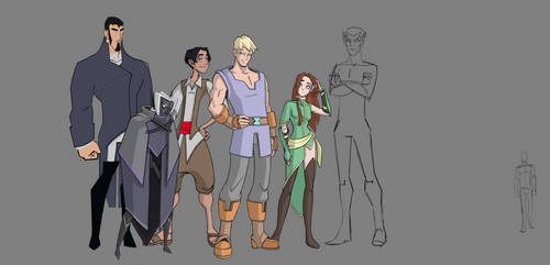 Gen 1, Act 1 Height Chart by Mr-Greeley