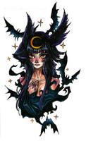 Night girl by Albi777