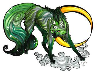Jade wolfie by Albi777