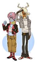 awkward teens.jpg by whitekitestrings