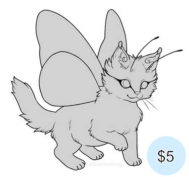 Butterfly Kitten Pay-to-Use Base by whitekitestrings