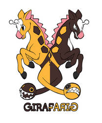 Girafarig by whitekitestrings