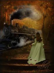 The Autumn Train by Sallinillas