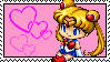 Sailor Moon stamp by Pretty-Soldier
