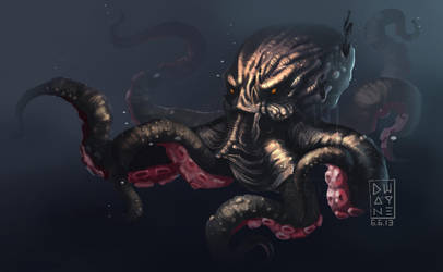 Kraken by dwayned3