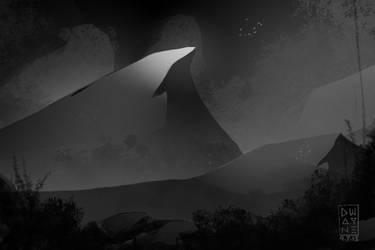 Dark Mountain by dwayned3