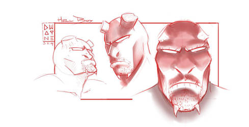 Hellboy concept by dwayned3