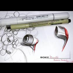 earphones by dwayned3