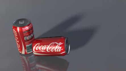 3D model: Coke Cans by dwayned3