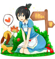 Alice and Hare by Sellleh