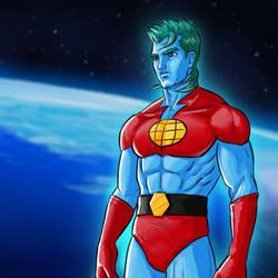 Captain Planet by thefuturesteve