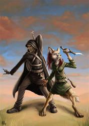 Ryan and Lumea by Nimrais