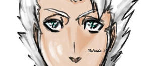 toshiro speed painting by Crownclown16