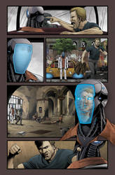 A page from Tekwar Chronicles by tealover007
