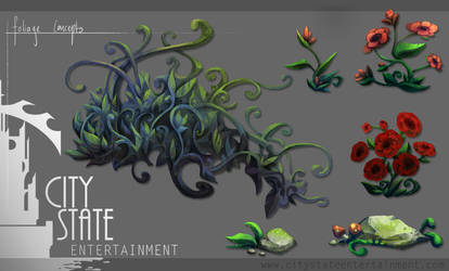 foliage concepts by tealover007