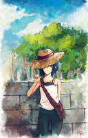 Straw hat by Abyssmo