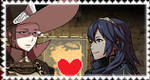 Laurent X Lucina - Stamp by AGirlFromDistrict3