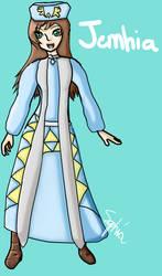 Jemhia - Zelda OC by AGirlFromDistrict3