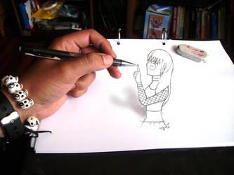 quien controla el lapiz by iruka15