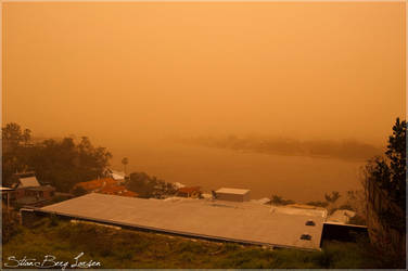Brisbane - duststorm 4 by Stianbl